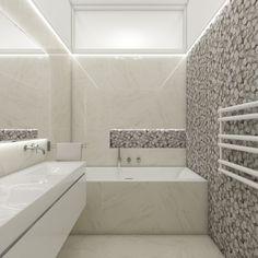 Elegant teenage bathroom   by CADFACE Prague, Teenage Bathroom, Luxury Apartments, Alcove, Bathtub, Interior Design, Elegant, Czech Republic, Bathrooms