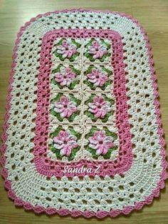 Crochet Gratis, Crochet Tote, Crochet Purses, Baby Blanket Crochet, Crochet Baby, Free Crochet, Knit Crochet, Baby Knitting Patterns, Crochet Square Patterns