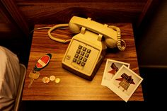 Motel room in Kingman, Arizona. Room keys, telephone and polaroids bedside. June No Direction Home Motel Room, This Is Your Life, All I Ever Wanted, Foto Art, Running Away, E Design, Graphic Design, Short Film, Dieselpunk