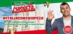 Gary Medel anuncio ItaliaconChispeza