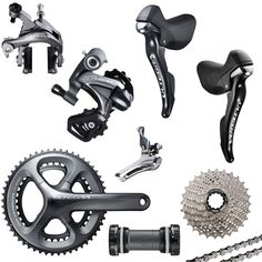 Shimano 6800 Ultegra 11 Speed Groupset (compact, 172.5mm cranks)