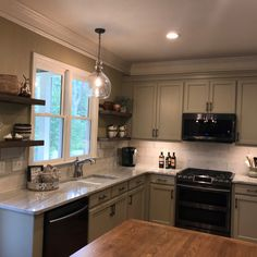 Custom build island and cabinets. Build and design by Black Dog Design House Residential Interior Design, Commercial Interior Design, Commercial Interiors, Interior Design Services, Dog Design, House Design, Construction Contractors, Create Space, Cabinet Furniture