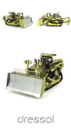 76219dc0f Manual Assembled Bulldozer Model Ornaments