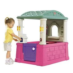 Check out this Walmart Deal! If you have kids, get this Step2 Four Seasons Playhouse only $89.00! Normally $149.97! Comes with free shipping or free in-store pickup! This deal won't last long, so if you want it grab it now! Fits small areas indoors and out Working Dutch door Arched window Slate roof on kids' …