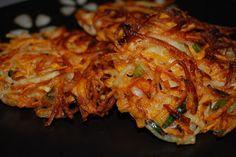 Sweet Potato Pancakes (latkes)