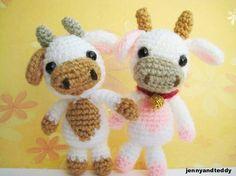 Cow Amigurumi - FREE Crochet Pattern / Tutorial