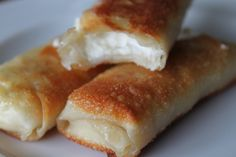 Cream Cheese Egg Rolls. Seriously cannot wait to try these!!!