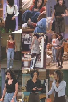 Best Picture For monica geller outfits blue For Your Taste You are looking for something, and it is Friends Moments, Friends Tv Show, Retro Outfits, Vintage Outfits, Cute Outfits, Friend Outfits, Friends Rachel Outfits, 80s Fashion, Fashion Outfits