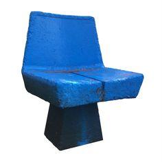 """industriamexicana:  """" Silla en concreto para espacios públicos.  DDF, ca. 1960  https://mueblemexicano.wordpress.com/2016/11/30/silla-ddf/  """"  Concrete chair for public spaces, Department of the Federal District (DDF) c. 1960  Designer: anonymous"""