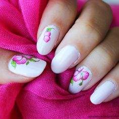 Floral Mani | Sally Hansen Miracle Gel Polish Review