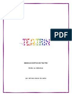7 Obras de Teatro Para Dramatizar en Clases(Bueno) Theatre, Study, Education, Reading, Books, Delaware, Chicago, Exterior, Ideas