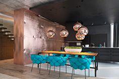 você sabia que o Cobre é tendência no Design de Interiores?   veja como aplicar o metal na decoração de casa e se apaixone pelo seu charme ♥ http://www.bimbon.com.br/arquitetura/o_cobre_como_tendencia_dicas_e_17_inspiracoes_para_se_apaixonar?utm_content=buffer0ba4a&utm_medium=social&utm_source=pinterest.com&utm_campaign=buffer