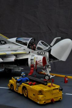 A-6 Intruder By Modeler Stephane Dufrene