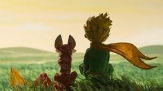Les premières images du film dévoilent un univers délicat, où se côtoient l'histoire du Petit Prince, du renard et de la rose et celle d'un vieil aviateur excentrique et sa petite voisine.