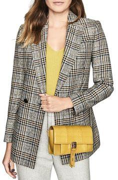 Reiss Aubrey Genuine Snakeskin & Leather Crossbody Bag In Chartreuse Reiss Fashion, World Of Fashion, Leather Crossbody Bag, Snake Skin, Luxury Branding, Your Style, Nordstrom, Blazer