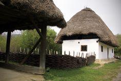 House from Kispalád  SKANZEN - Hungarian Open Air Museum
