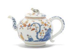 Very rare Meissen teapot and cover, circa 1729-1730. Bonhams : Fine European Ceramics