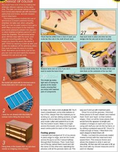 #424 Collectors Chest Plan - Other Woodworking Plans and Projects