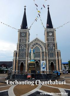 In eastern Thailand, near the Cambodian border, is Chanthaburi, one of the country's lesser-known gems. See the beautiful church, explore the fascinating 300-year-old Chanthaboon River Community, and try your hand at cutting and polishing your own yellow sapphire. #AmazingThainess