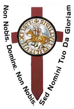 Lema y logo de la orden del temple