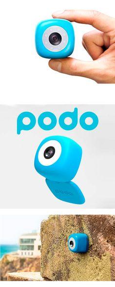 Камера #Podo на Bluetooth сделает смартфонную фотосъемку увлекательной