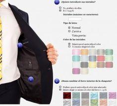 La exclusividad de los trajes a medida personalizados