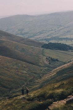 willsnewman:  Peak District Passers By 2- Another photo from our walk across Kinder Scout in the Peak District.
