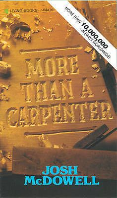 More Than a Carpenter by Josh McDowell