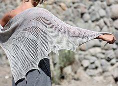 Artesian Shawl Knitting Pattern | Shawl and Wrap Knitting Patterns at www.terrymatz.biz/intheloop