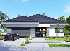 APS 401 - zdjęcie 1 My House Plans, House Layout Plans, Family House Plans, Luxury House Plans, Modern House Plans, Modern Family House, Modern Bungalow House, Small House Design, Modern House Design