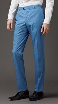 Modern Fit Parachute Cotton Trousers | Burberry Fashion Beauty, Luxury Fashion, Color Pants, Parachute Pants, Burberry, Trousers, Coat, Fitness, Modern