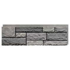 NextStone Random Rock ft Mountain Shadow Faux Stone Veneer at Lowe's. Developed in the NextStone holds a US design patent and has a unique manufacturing process giving the products the most authentic faux stone siding Stone Siding Panels, Faux Stone Siding, Stone Veneer Siding, Stone Veneer Panels, Faux Stone Panels, Faux Panels, Stone Decoration, Faux Stone Veneer, Newel Post Caps