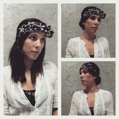 Coiffure foulard, le noeud du foulard est sur le blog http://latelierdefille.canalblog.com/archives/2015/06/07/32182002.html