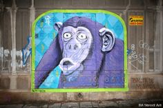 Monkey magic – new purple chimp by Ice