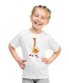 Giraffe T-shirt with autograph