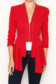 This Cardigan Really Pops! You Look Beautiful, Blazer, How To Make, Jackets, Women, Fashion, Down Jackets, Moda, Women's