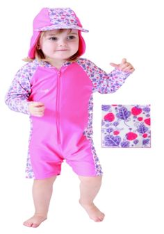Rashoodz  Strawberry Kisses ( 49.98) all in one sun protective swimmers 0b87e00be325