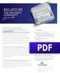 Luminesce Advanced Night Repair Product Sheet