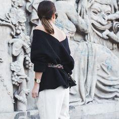 Styling tip: Suéter ao Contrário