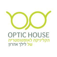 "LOGO Design by Curly Black - design & concept Studio - UX | UI | Branding | Packaging Design | סטודיו קרלי בלק - עיצוב חווית משתמש | מיתוג ועיצוב אריזות | עיצוב אריזות | עיצוב לוגו | תדמית - Logo Design for ""Optic House"" - Optometry Clinic by Lilach Aharon  עיצוב לוגו לקליניקה לאופטומטריה הממוקמת באבן יהודה בבעלות לילך אהרון, אופטימטריסטית מובילה ומקצועית."