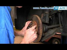 Difference between new and very aged brake pad auto repair brake how to install repair replace the brakes on a chrysler pt cruiser 01 05 fandeluxe Image collections