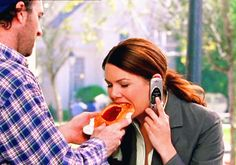 "Because Luke always made sure Lorelai was well-fed. | 17 Definitive Reasons Luke And Lorelai Deserved A Better Ending On ""Gilmore Girls"""
