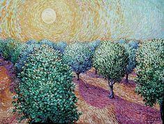 Plum Orchard   Vincent Van Gogh