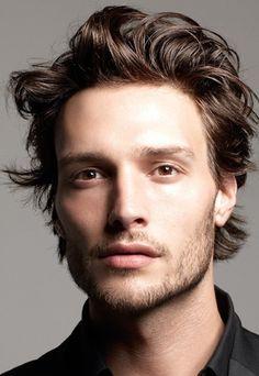 9 Besten Männerfrisuren Mittellang Bilder Auf Pinterest Haircuts