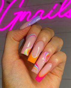 Dope Nails, Cute Acrylic Nails, Beauty, Beauty Illustration