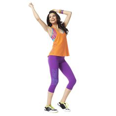 Craveworthy Capri Leggings | Zumba Fitness Shop  #Zumbawear #Zwag Get 10% off using affiliate code: 150259