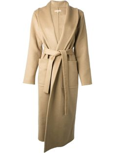There is nothing more chic and effortless than a lovely wrap coat - loving this one from Michael Kors