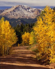 pikes peak autumn, hiked it once and I think its time to hike it again!