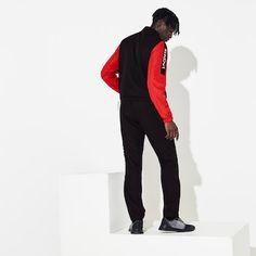 Men's Lacoste SPORT Light Colourblock Tracksuit | LACOSTE Lacoste Tracksuit, Lacoste Sport, Athlete, Underwear, Zipper, Sports, Jackets, Clothes, Fashion