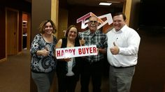 Happy new home owners. Congratulations!